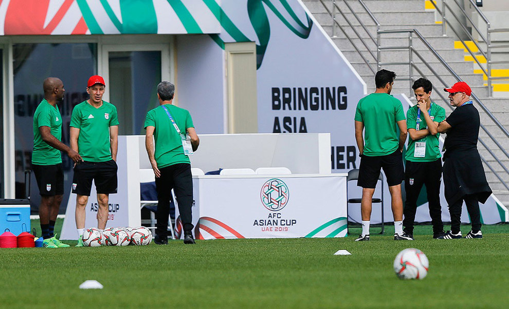 (تصاویر) آخرین تمرین تیم ملی فوتبال قبل از بازی با ویتنام - 3