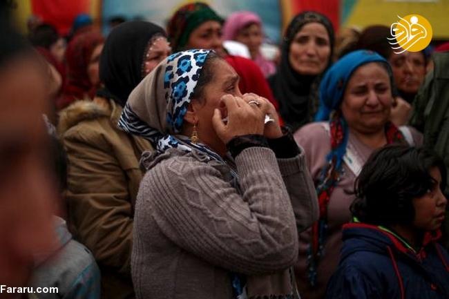 (تصاویر) تشییع دختر کشته شده در جنگ با داعش - 19