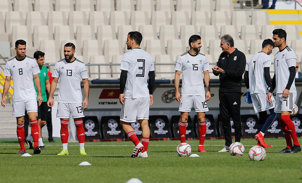 (تصاویر) آخرین تمرین تیم ملی فوتبال قبل از بازی با ویتنام - 4