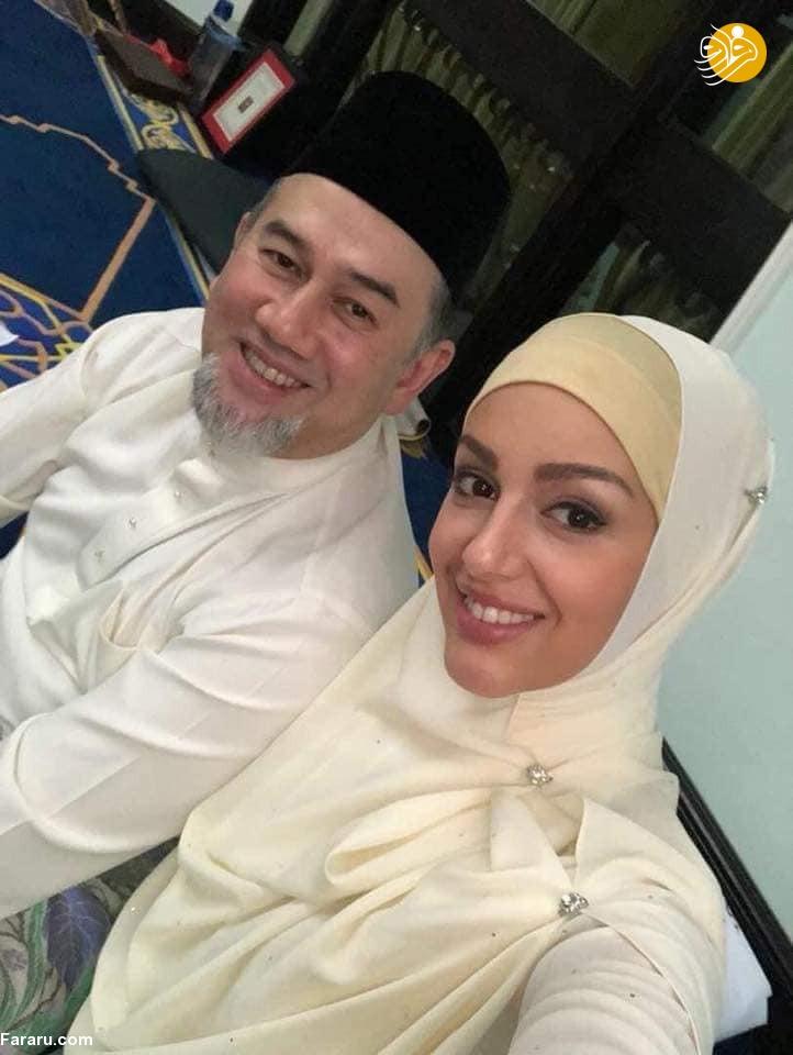 (تصاویر) ملکه زیبایی روس مسلمان شد و با پادشاه مالزی ازدواج کرد - 4