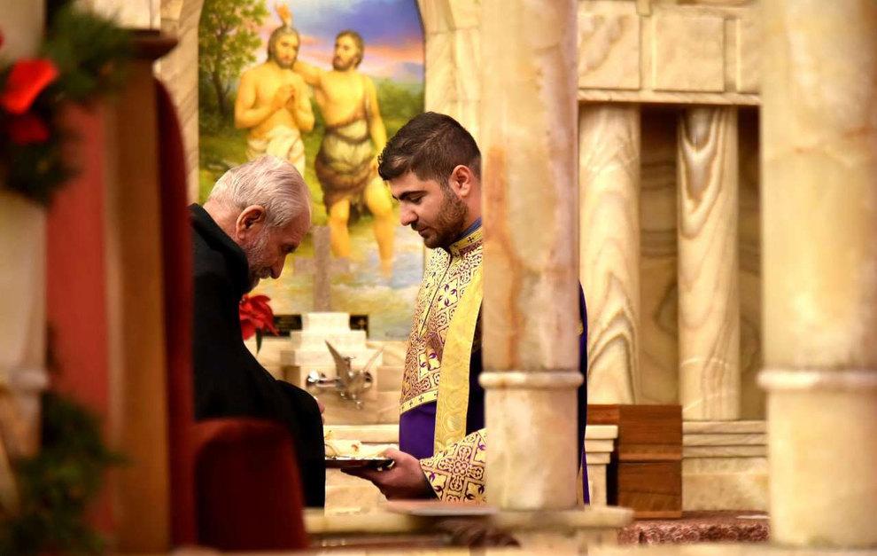 (تصاویر) آغاز سال نو در کلیسای سرکیس مقدس تهران - 14