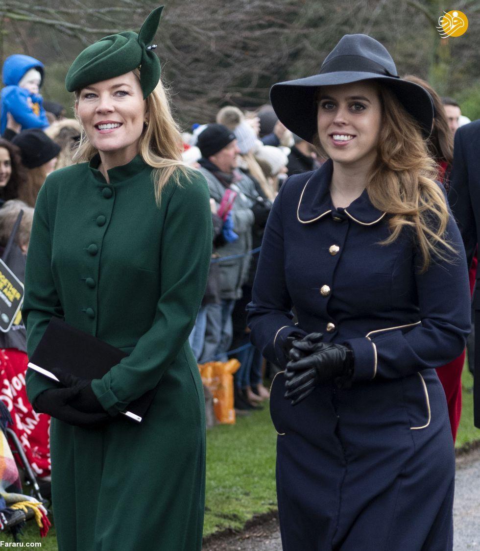 (تصاویر) پوشش خاندان سلطنتی بریتانیا در کریسمس - 11