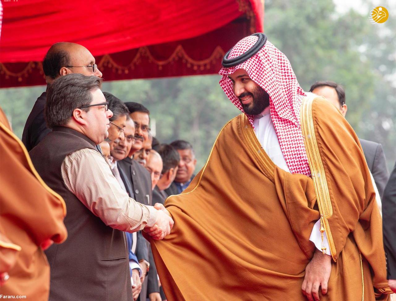 (تصاویر) استقبال خلاف عرف نخستوزیر هند از بنسلمان - 22