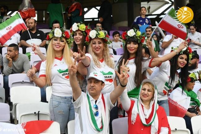 (تصاویر) شب تلخ هوادارن ایران در امارات - 34