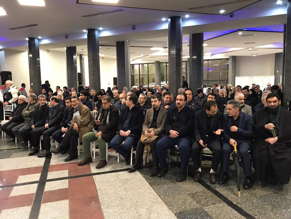 (تصاویر) استقبال از پیکر مدیر عامل تامین اجتماعی در تهران - 9
