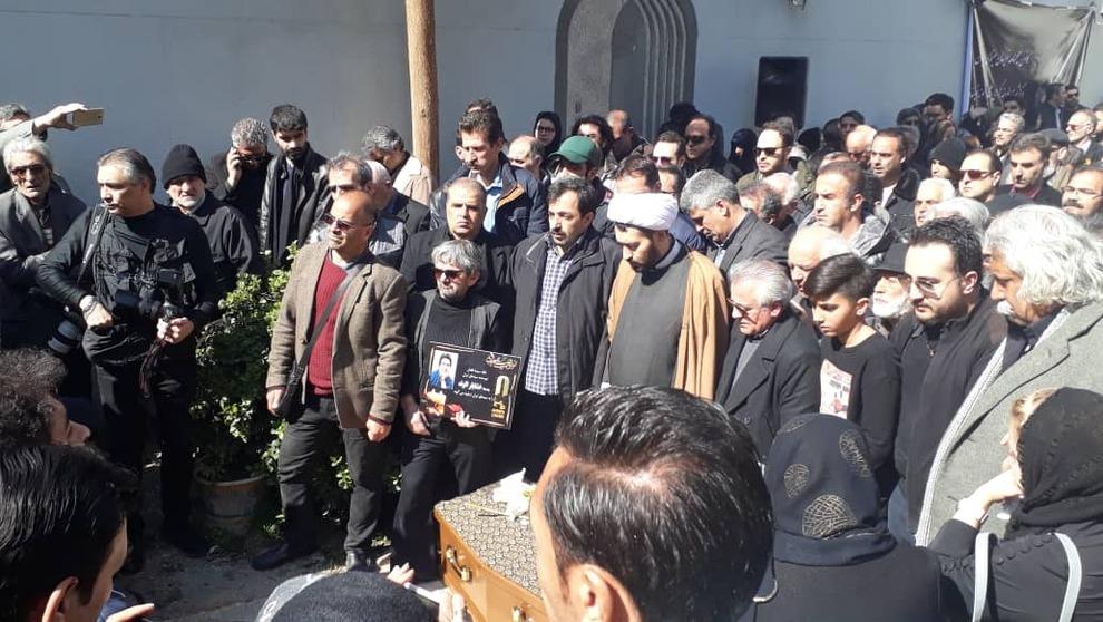 (تصاویر) چهرهها در مراسم تشییع خشایار الوند - 20