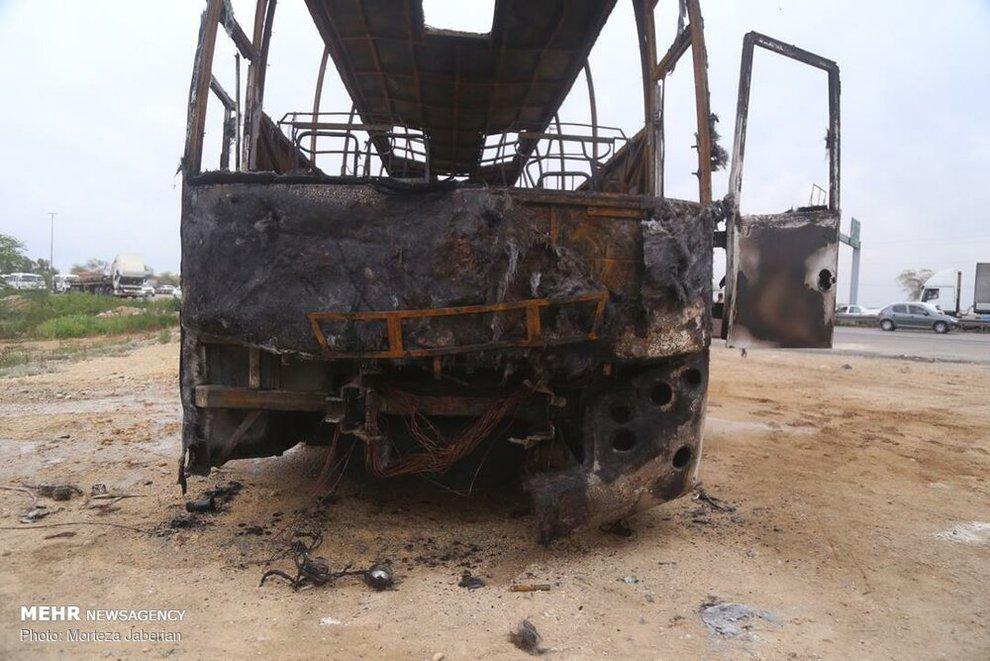 (تصاویر) انفجار خط لوله نفت اهواز به رامهرمز - 8