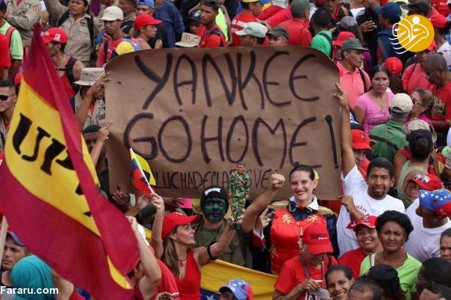 (تصاویر) وزنکشی خیابانی هواداران گوایدو و مادرو در ونزوئلا - 29