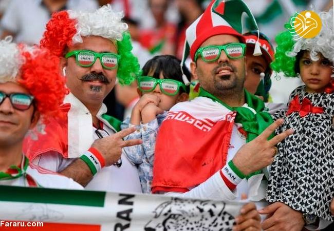 (تصاویر) شب تلخ هوادارن ایران در امارات - 12