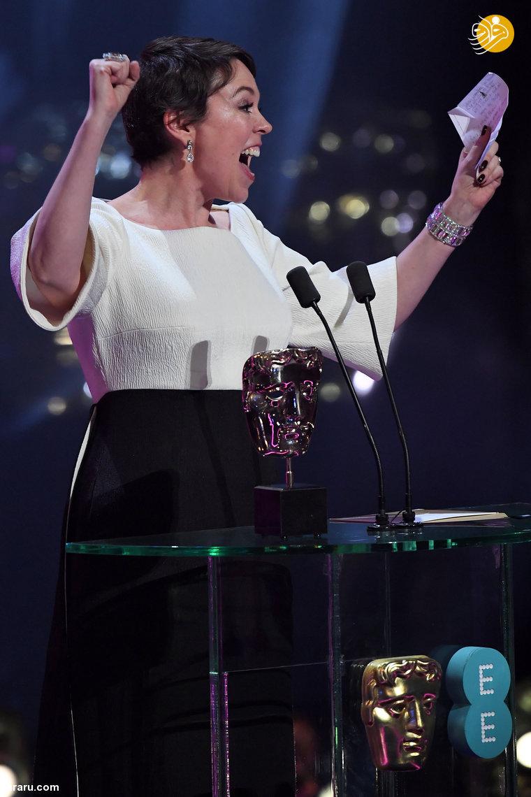 (تصاویر) مراسم اهدای جوایز بفتا؛ درخشش سوگلی و رما - 21