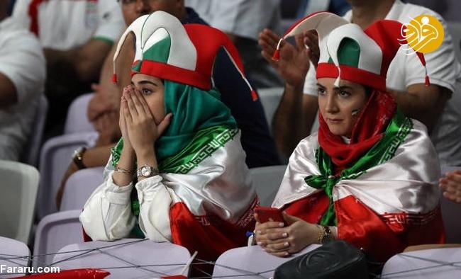 (تصاویر) شب تلخ هوادارن ایران در امارات - 36