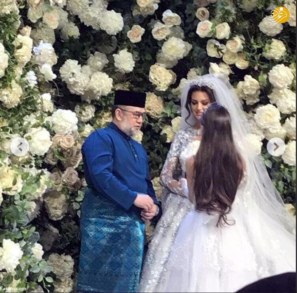 (تصاویر) ملکه زیبایی روس مسلمان شد و با پادشاه مالزی ازدواج کرد - 6