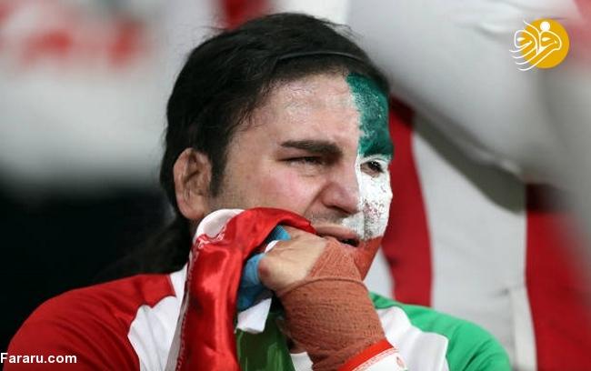 (تصاویر) شب تلخ هوادارن ایران در امارات - 37