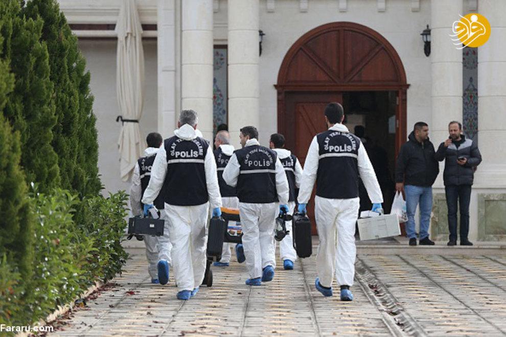 (تصاویر) جستجوی جسد خاشقچی در ویلای یک شهروند سعودی - 11