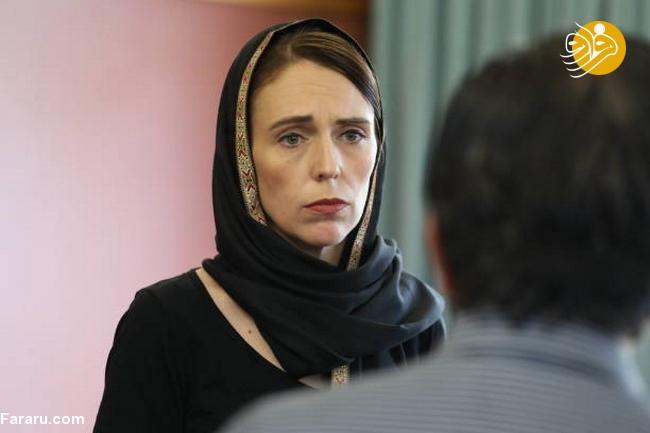 (تصاویر) نخست وزیر نیوزیلند باحجاب شد! - 18