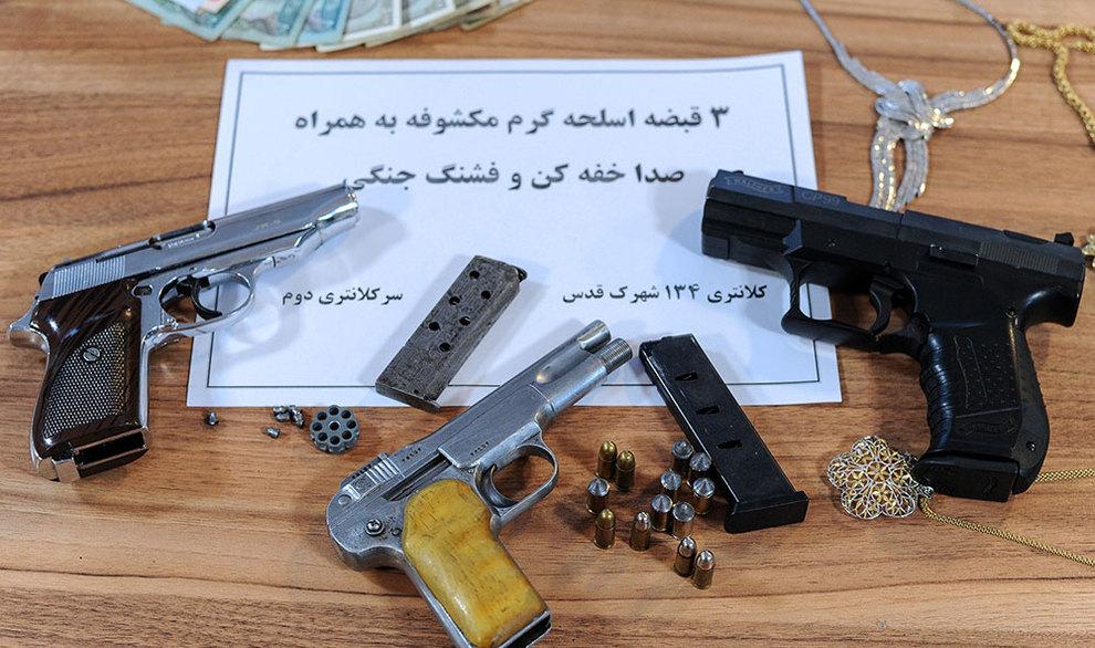 (تصاویر) سرقت مسلحانه میلیاردی از خانه لوکس - 15