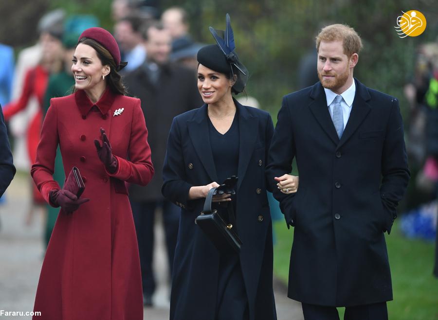 (تصاویر) پوشش خاندان سلطنتی بریتانیا در کریسمس - 10