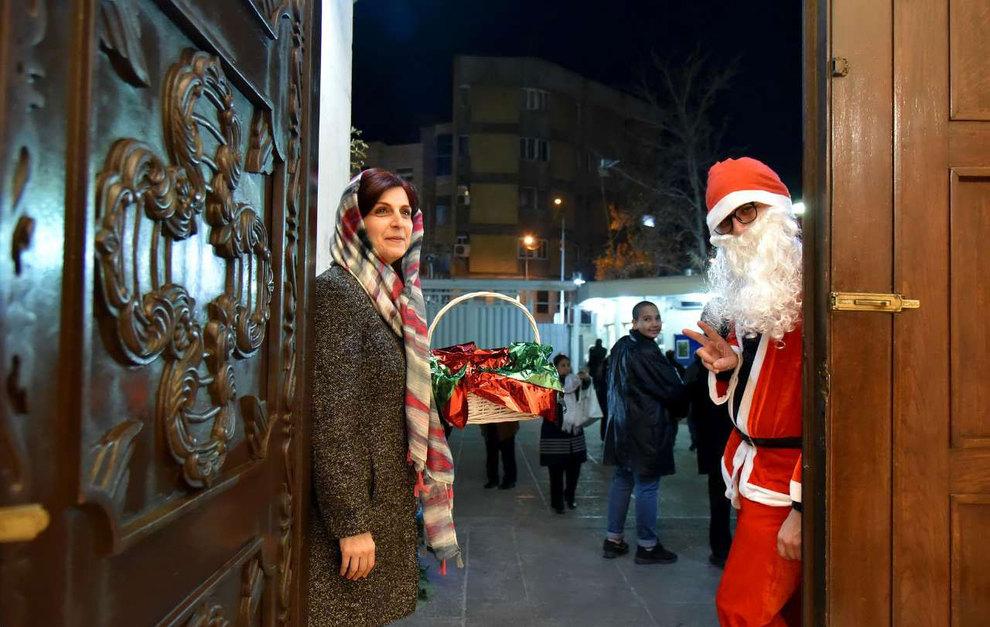 (تصاویر) آغاز سال نو در کلیسای سرکیس مقدس تهران - 19