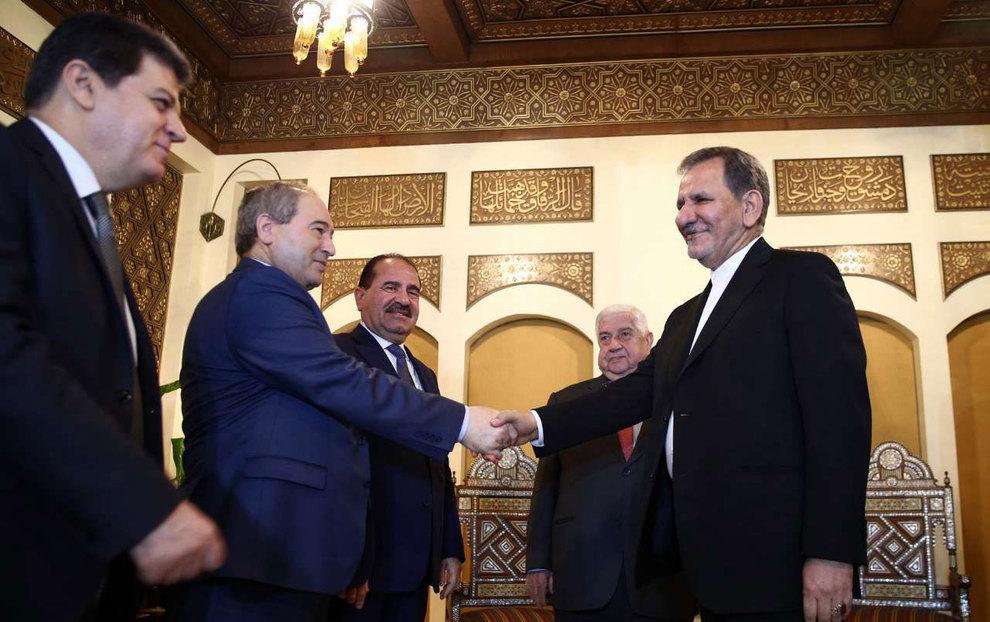 (تصاویر) دیدار جهانگیری با وزیر امور خارجه سوریه - 8
