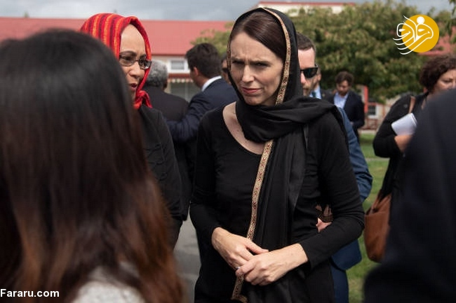 (تصاویر) نخست وزیر نیوزیلند باحجاب شد! - 10