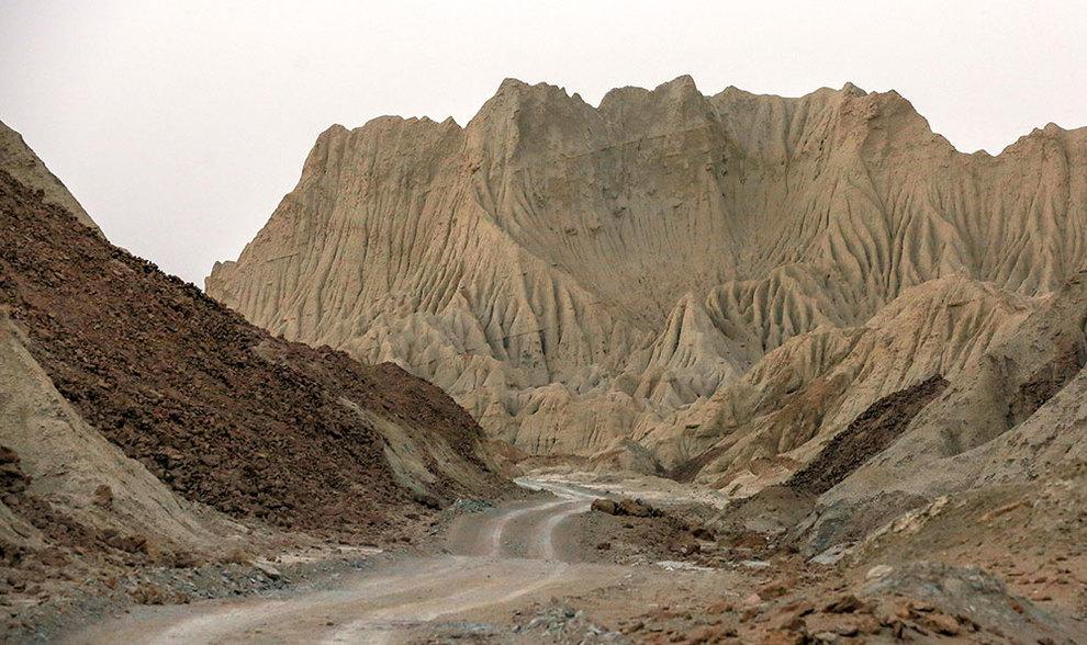 (تصاویر) کوههای مریخی چابهار - 3