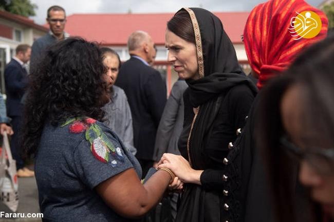 (تصاویر) نخست وزیر نیوزیلند باحجاب شد! - 9
