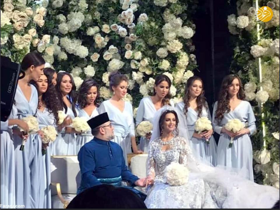 (تصاویر) ملکه زیبایی روس مسلمان شد و با پادشاه مالزی ازدواج کرد - 12