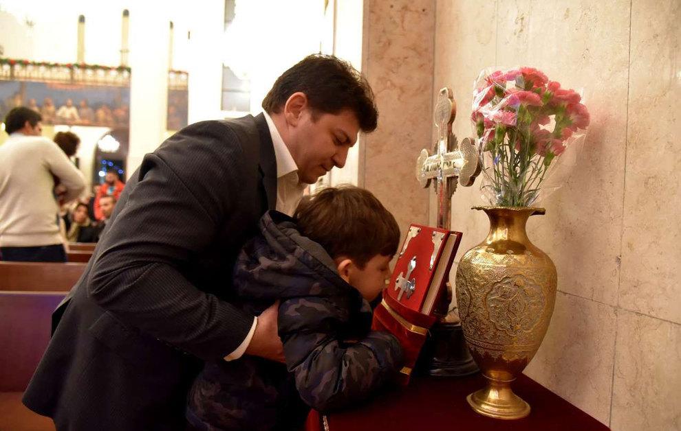 (تصاویر) آغاز سال نو در کلیسای سرکیس مقدس تهران - 18