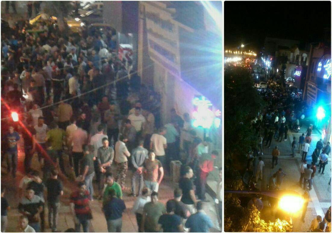 (تصاویر) هجوم شبانه مردم به صرافیها برای فروش دلار - 3