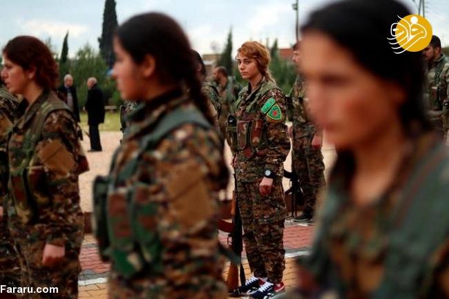 (تصاویر) تشییع دختر کشته شده در جنگ با داعش - 13