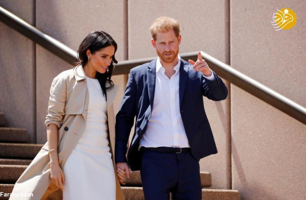 """(تصاویر) اعلام خبر بارداری """"مگان مارکل"""" در سفر به استرالیا - 3"""