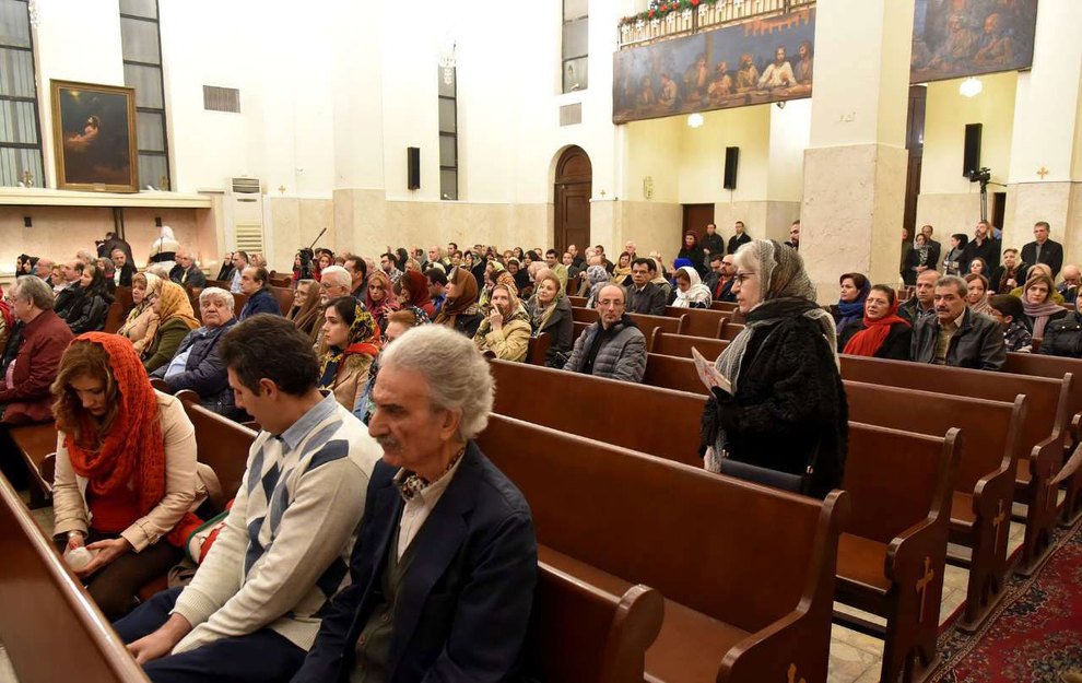(تصاویر) آغاز سال نو در کلیسای سرکیس مقدس تهران - 8