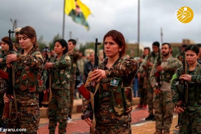 (تصاویر) تشییع دختر کشته شده در جنگ با داعش - 6