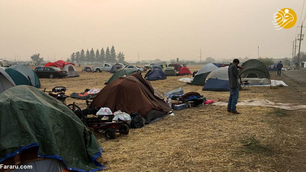 تصاویر جدید از آتشسوزی هولناک کالیفرنیا - 17