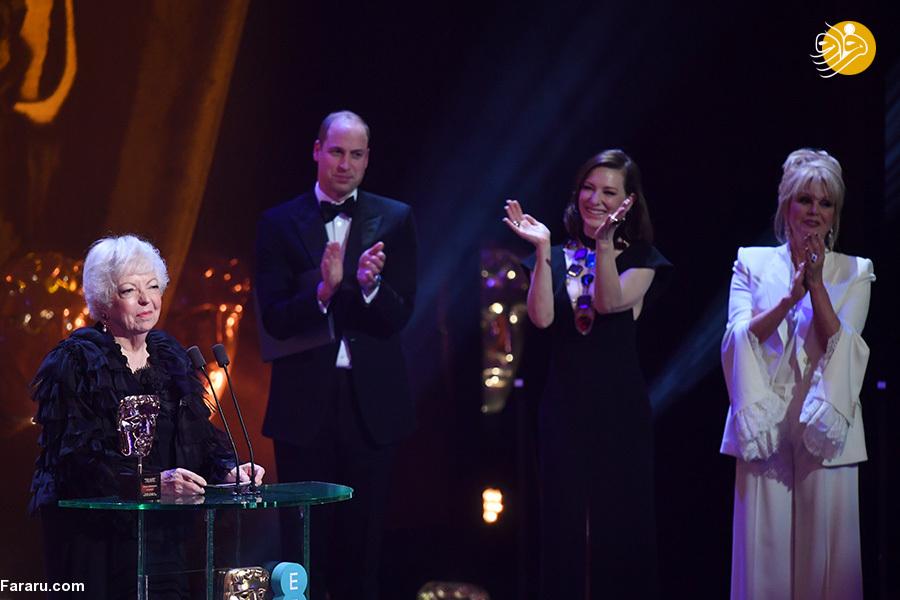 (تصاویر) مراسم اهدای جوایز بفتا؛ درخشش سوگلی و رما - 15