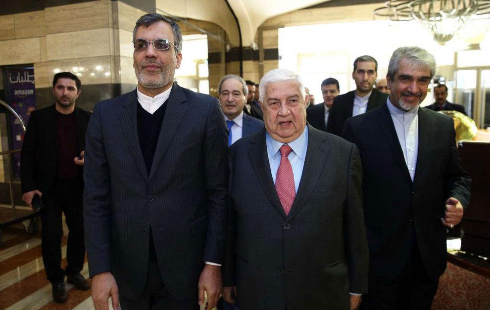 (تصاویر) دیدار جهانگیری با وزیر امور خارجه سوریه - 11