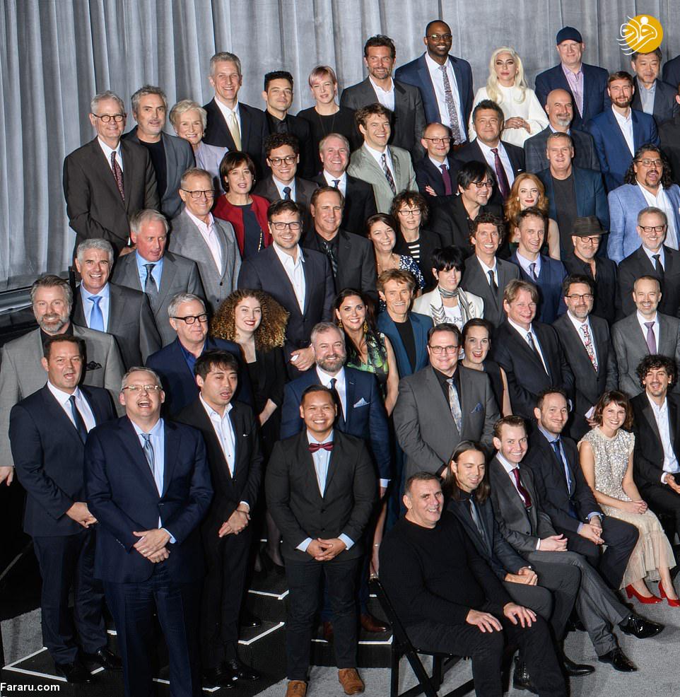 (تصاویر) نامزدهای دریافت جوایز اسکار ۲۰۱۹ - 29