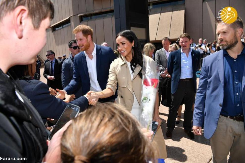 """(تصاویر) اعلام خبر بارداری """"مگان مارکل"""" در سفر به استرالیا - 14"""