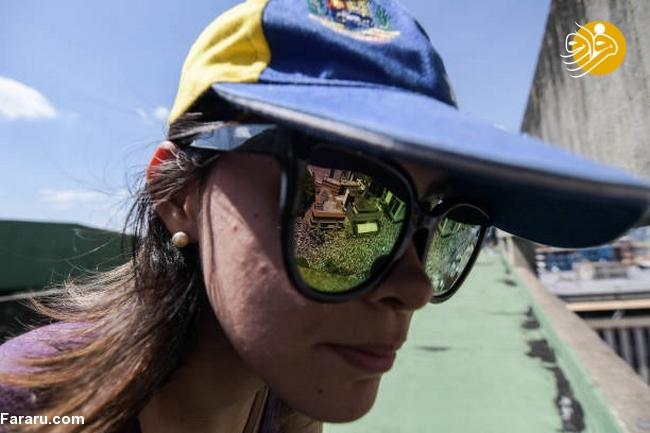 (تصاویر) وزنکشی خیابانی هواداران گوایدو و مادرو در ونزوئلا - 23
