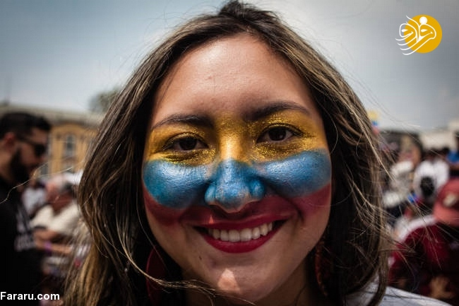 (تصاویر) وزنکشی خیابانی هواداران گوایدو و مادرو در ونزوئلا - 30