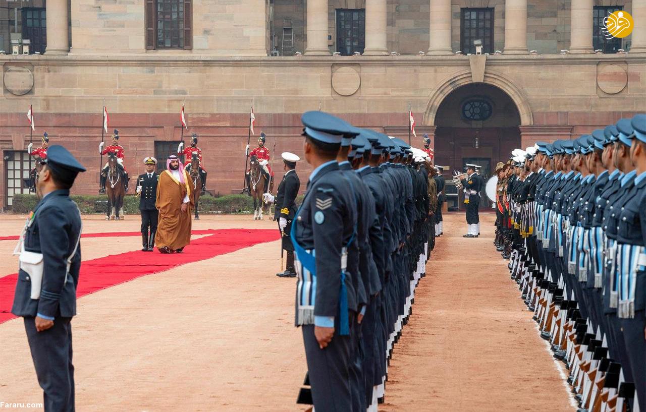 (تصاویر) استقبال خلاف عرف نخستوزیر هند از بنسلمان - 21