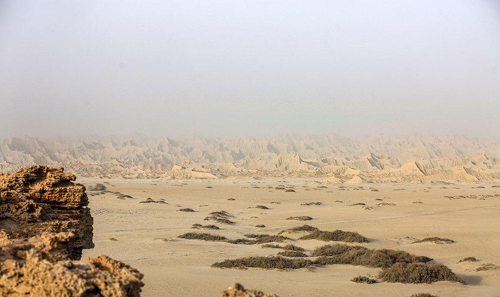 (تصاویر) کوههای مریخی چابهار - 13