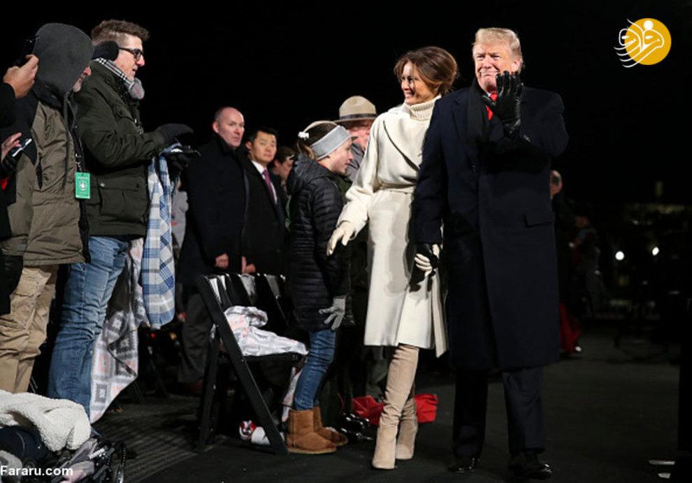 (تصاویر) اشکهای ترامپ در کنار ملانیا! - 5