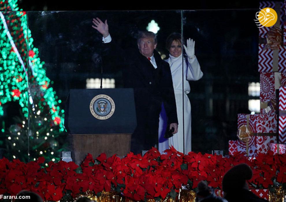 (تصاویر) اشکهای ترامپ در کنار ملانیا! - 9