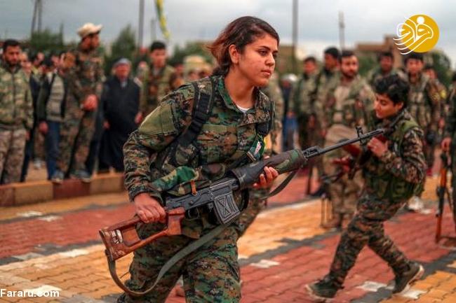 (تصاویر) تشییع دختر کشته شده در جنگ با داعش - 9