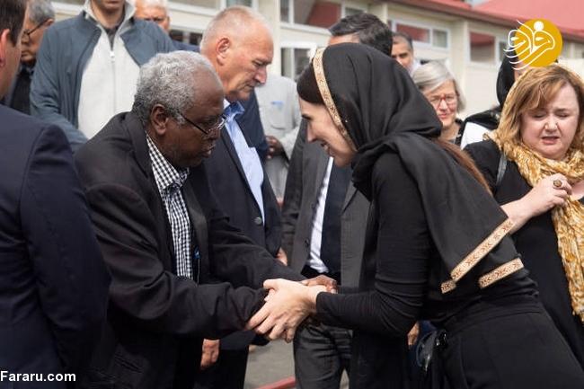 (تصاویر) نخست وزیر نیوزیلند باحجاب شد! - 11