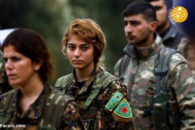 (تصاویر) تشییع دختر کشته شده در جنگ با داعش - 22