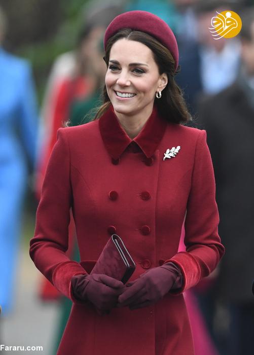 (تصاویر) پوشش خاندان سلطنتی بریتانیا در کریسمس - 9
