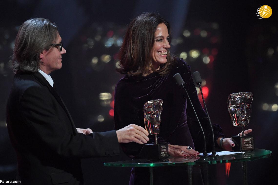(تصاویر) مراسم اهدای جوایز بفتا؛ درخشش سوگلی و رما - 24