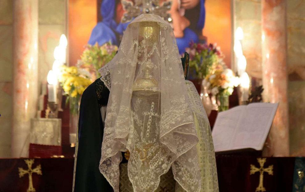 (تصاویر) آغاز سال نو در کلیسای سرکیس مقدس تهران - 9